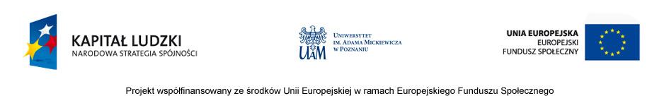 Baner Stopka: Kapitał Ludzki - UAM - Europejski Fundusz Społeczny