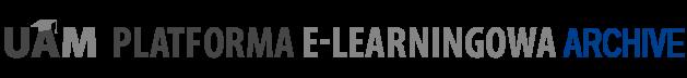 Logo Platformy E-learningowej UAM